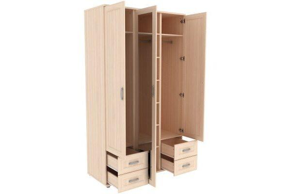 Шкаф для одежды с зеркалом 513.10
