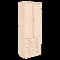 Шкаф для белья со штангой и ящиками арт. 103