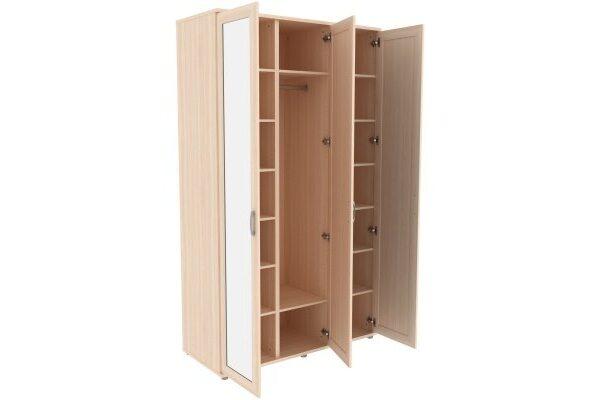 Шкаф для одежды с зеркалами 513.04