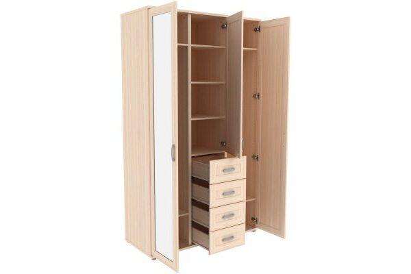 Шкаф для одежды с зеркалами 513.06