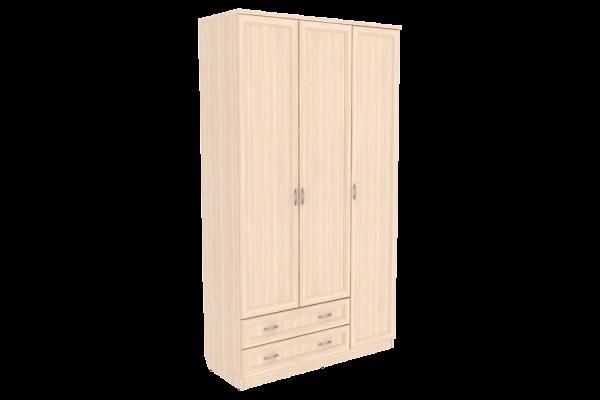 Шкаф для белья со штангой, полками и ящиками арт. 114