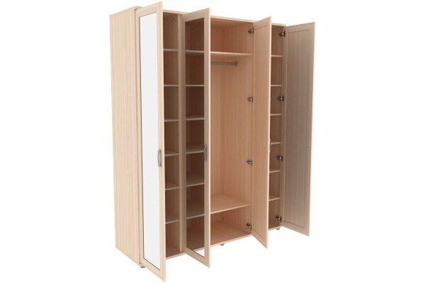 Шкаф для одежды с зеркалами 514.02
