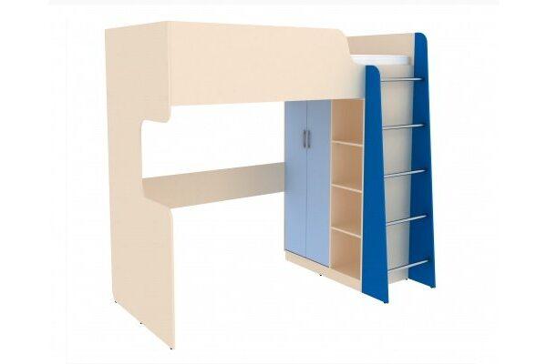 Кровать двухъярусная Дарина арт. УК03 цвет Лазурный