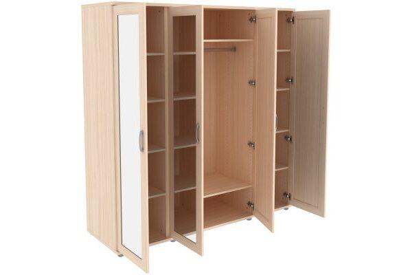 Шкаф для одежды с зеркалами 414.04