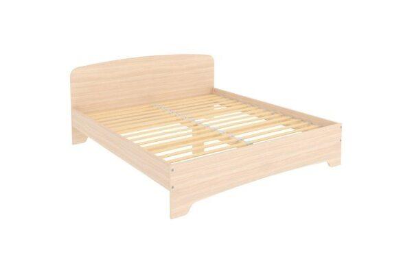 Кровать двухместная с ортопедическим основанием КМ18