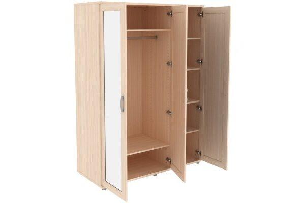 Шкаф для одежды с зеркалами 413.04