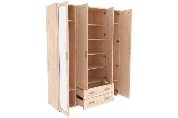 Шкаф для одежды с зеркалами 514.04