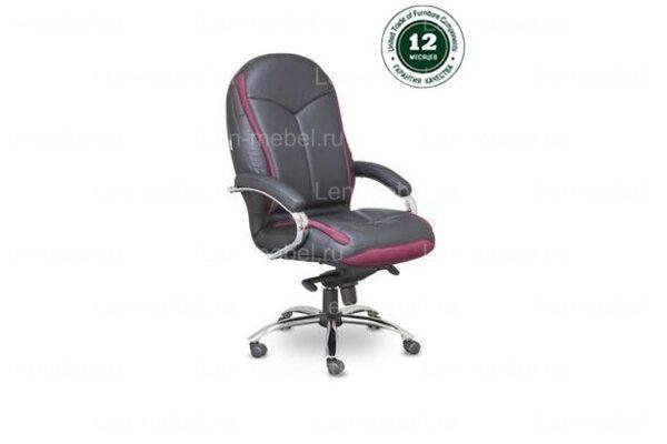 Кресло для руководителя СН-437 Фри Делюкс хром