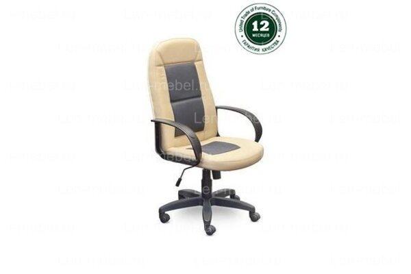 Кресло для руководителя Идра Комби В пластик