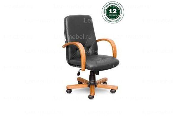 Кресло для руководителя Комо В дерево