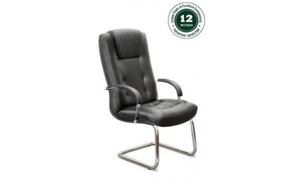 Кресло для руководителя К-41 Кендо В/п хром