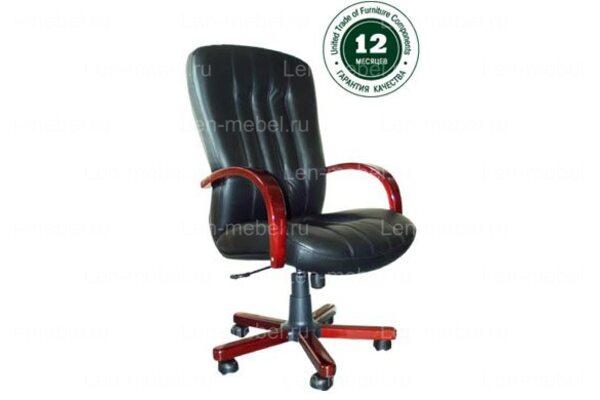 Кресло для руководителя Глория В дерево