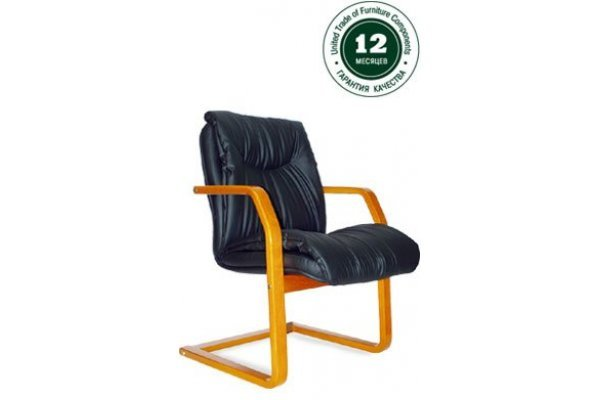 Кресло для руководителя Свинг Н/п дерево