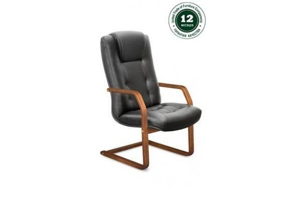 Кресло для руководителя К-41 Кендо В/п дерево