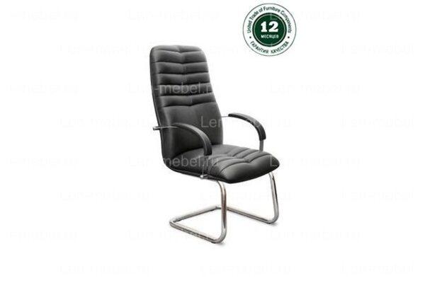 Кресло для руководителя К-49 Гелакси В/п хром