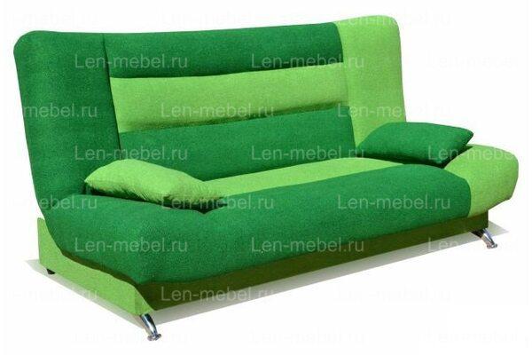 Диван Лодочка Зеленая