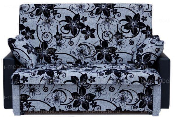 Кресло-кровать Рогожка цветы