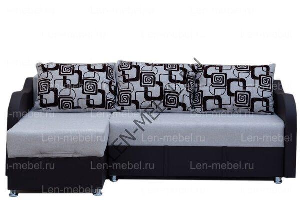 Угловой диван Кристалл 2 Рогожка