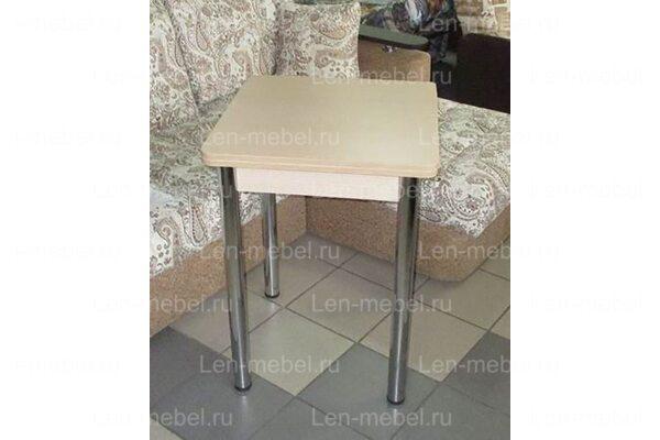 Стол Ломберный, дуб сонома, 600x600(1200)